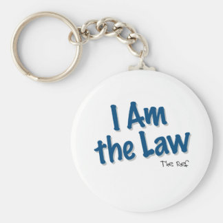 I Am the Law Keychain