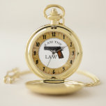 """I am the law with a hand gun pocket watch<br><div class=""""desc"""">I am the law with a hand gun</div>"""