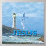 I  am the light of the world John 8:12 Poster