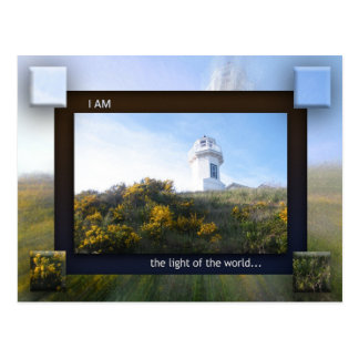 I AM the Light of the World Postcard