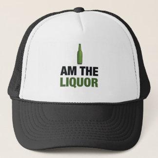 I am the liquor trucker hat