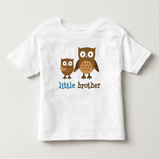 I am the Little Brother - Mod Owl t-shirts