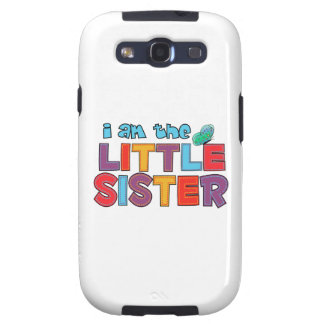 I am the Little Sister Butterfly Samsung Galaxy SIII Covers