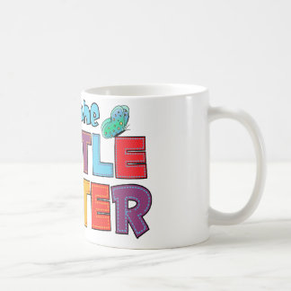 I am the Little Sister Butterfly Coffee Mug
