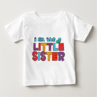 I am the Little Sister Butterfly T-shirt