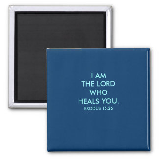 I AM THE LORD - 1118 2 INCH SQUARE MAGNET