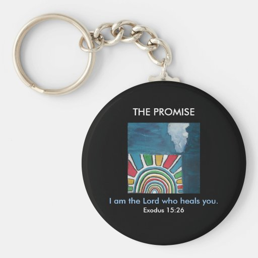 I AM THE LORD - 1118 BASIC ROUND BUTTON KEYCHAIN