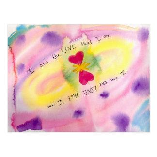 I Am The Love That I Am Postcard