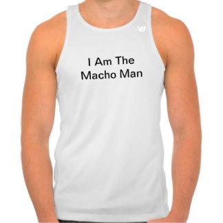 I Am The Macho Man Tees