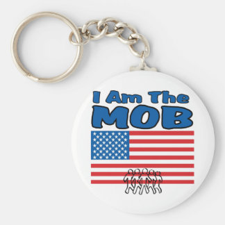 I Am The Mob Keychains