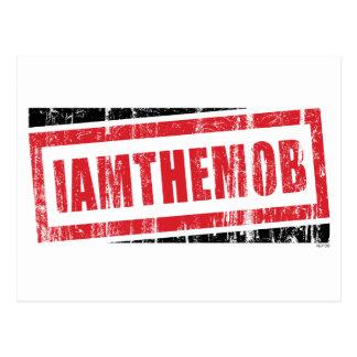 I Am The Mob Postcard