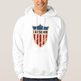 I Am The Mob Shield Hooded Pullover