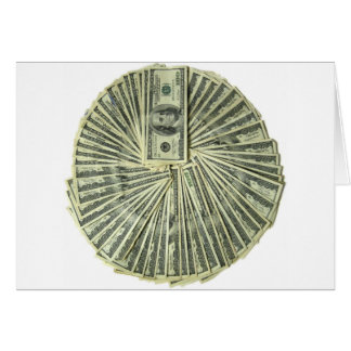 I am the money greeting card
