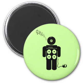 I Am The Music Man... 2 Inch Round Magnet