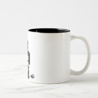 I Am The Music Man... Two-Tone Coffee Mug