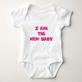 I am the New Baby Baby Bodysuit