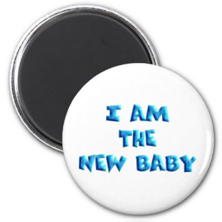 I am the New Baby boy Magnet
