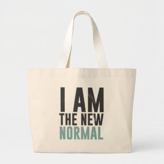 I am the new normal tote bag