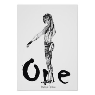 I am the One Figure Poster
