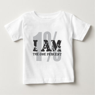 I am the one percent! 1%! baby T-Shirt