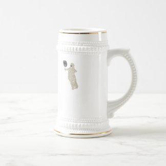I Am The Polar Bear. Target practice. 18 Oz Beer Stein
