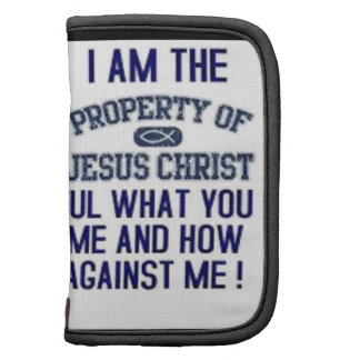 I Am The Property of Jesus Christ Organizers