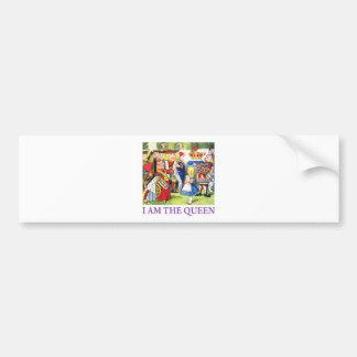 I Am The Queen Bumper Sticker