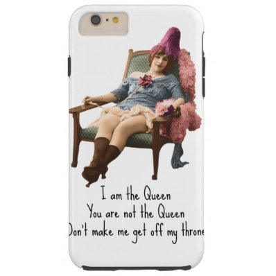 I Am The Queen iPhone Case