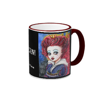 I am the Queen! Ringer Coffee Mug