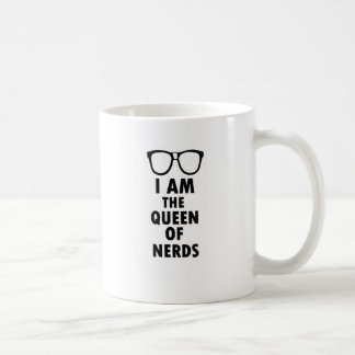 I Am The Queen Of Nerds Mugs