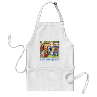 I AM THE QUEEN OF WONDERLAND ADULT APRON