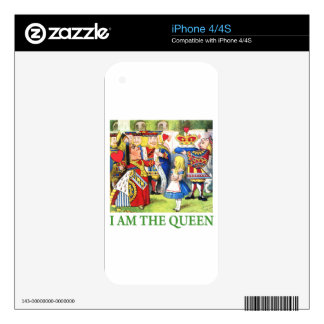 I Am The Queen! Skin For The iPhone 4