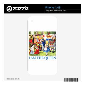 I Am The Queen Skins For The iPhone 4