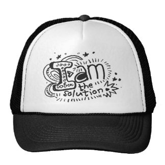 I Am The Solution 1 Trucker Hat