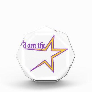 I am the Star Acrylic Award