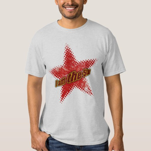 I am the star - Customized T-shirt