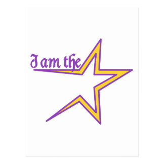 I am the Star Postcard