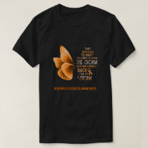 I Am The Storm Multiple Sclerosis Awareness Butter T-Shirt