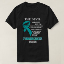 I Am The Storm Support Ovarian Cancer Warrior Gift T-Shirt