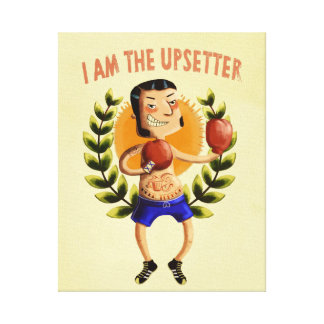 I am The Upsetter Stretched Canvas Prints