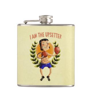 I am The Upsetter Hip Flask