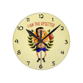 I am The Upsetter Round Clock