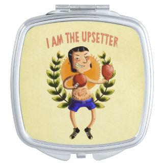 I am The Upsetter Vanity Mirror