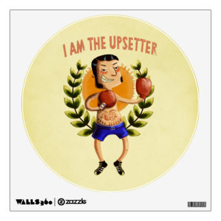 I am The Upsetter Wall Graphic