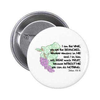 I am the vine, you are the branches... Pin