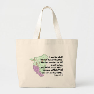 I am the vine, you are the branches...Tote Bag