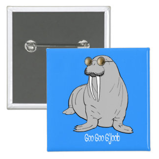 I am the Walrus Pins