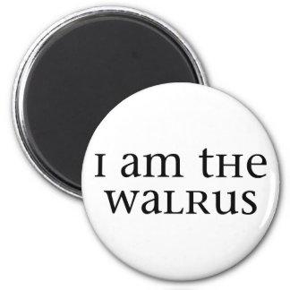 I am the Walrus Fridge Magnets