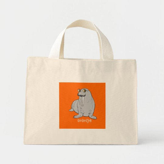 I am the Walrus Mini Tote Bag