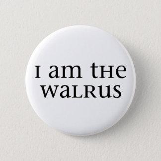 I am the Walrus Pinback Button